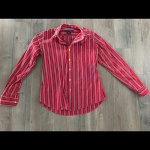 Women's Button-Down Dress Shirt, Ralph Lauren